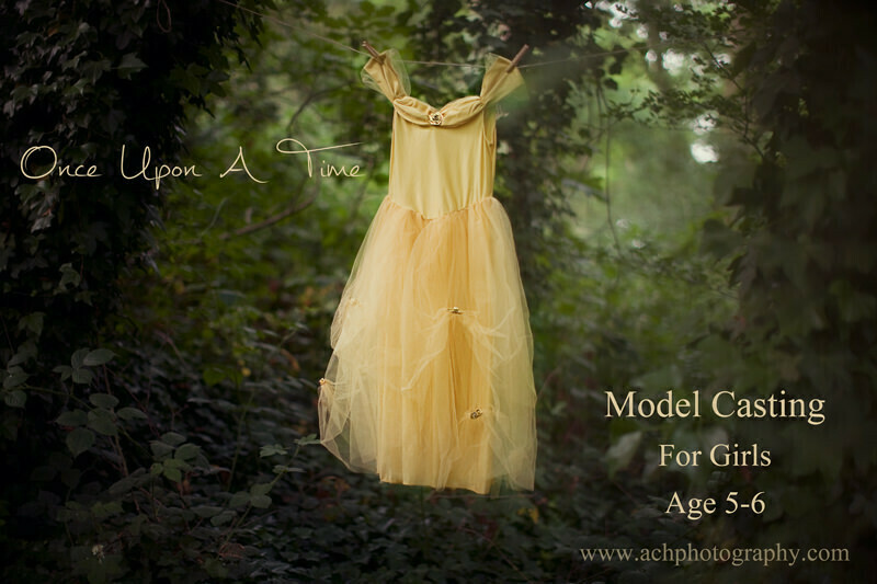Child Model Casting Call London | Free Photo Session in Once Upon A Time Theme | yellow prince dress | fairy tale