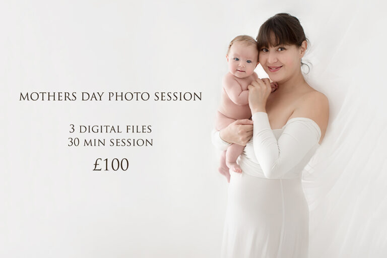 Mothers Day Photo Session | proffesional portrait of a mother holding her 3 months old baby girl