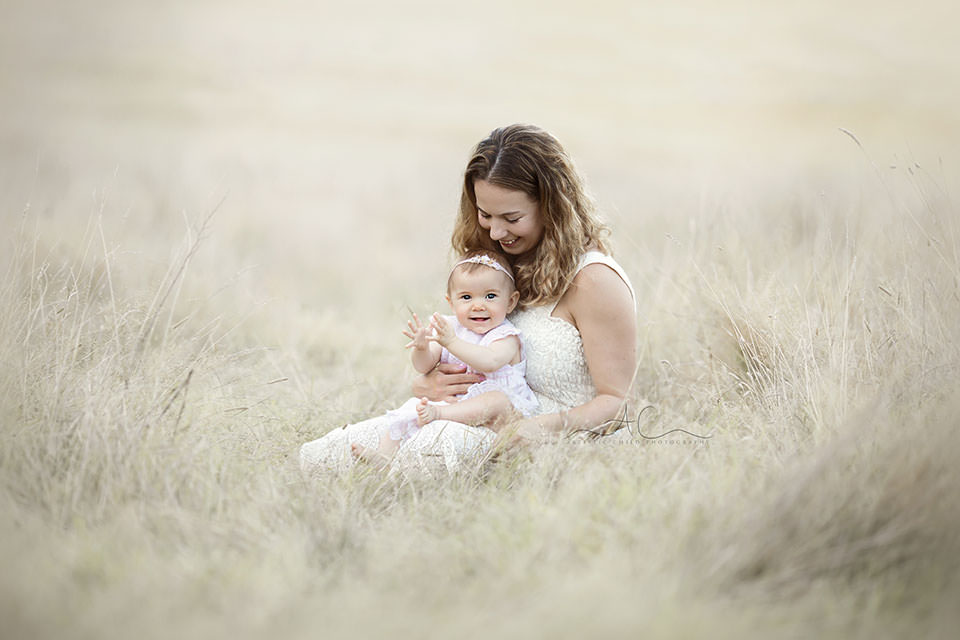 Bromley Family Photography Services | portrait of mum and her baby daughter