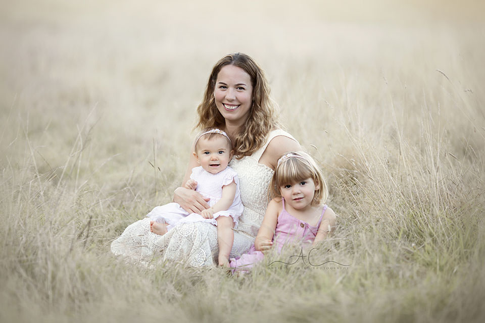 Bromley Family Photography Services | lovely family portrait of mum and her 2 children